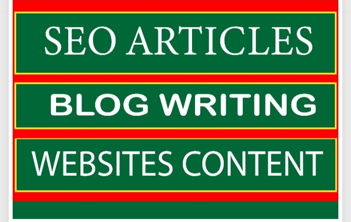 I will write prolific SEO blogs and articles
