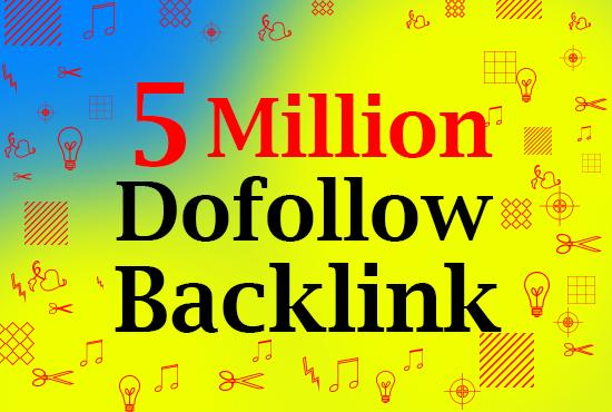 Best GSA 5million backlinks service