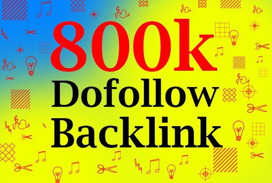 Push your web site now with 800k GSA backlinks