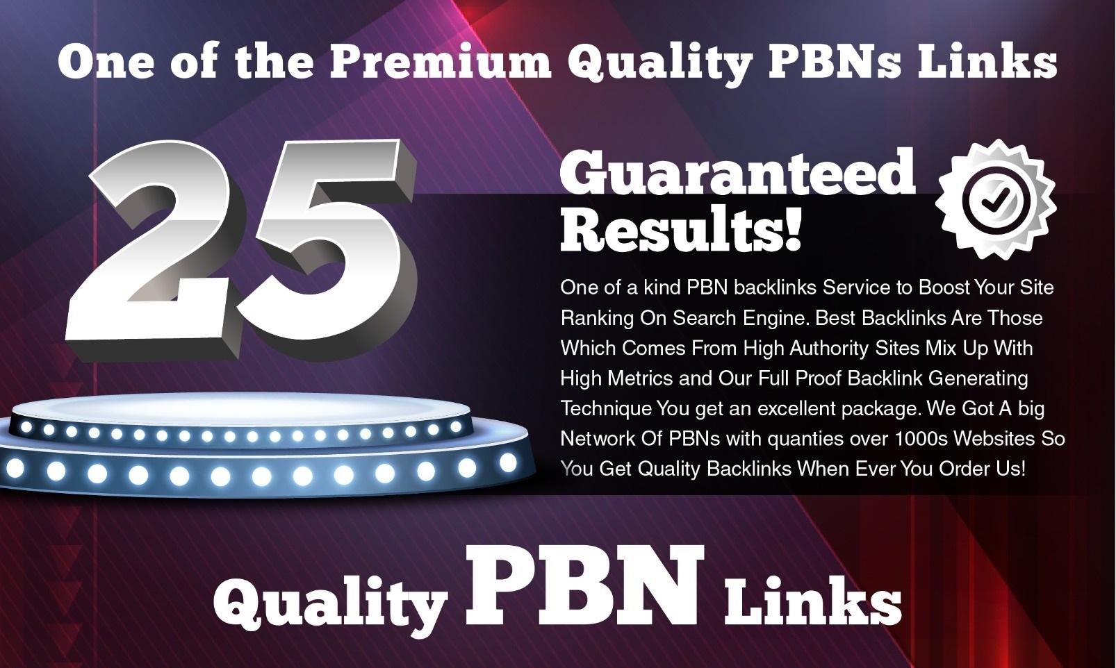 Build SPAM FREE 25 PBNs DA20+ Dofollow links With SSL Domains