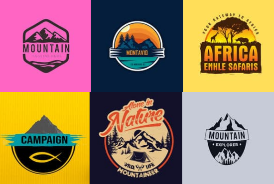 I Will Design a professional Advanture,  Camping,  Outdoor Logo For Your Business in 24 hours