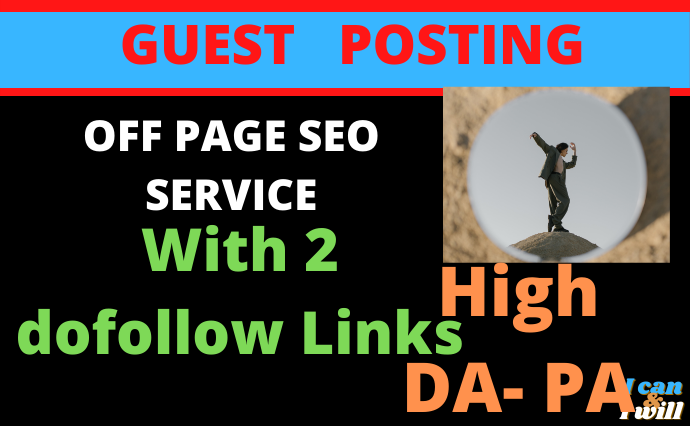 I will do seo offpage service, guest post on da 60 google news approved sites