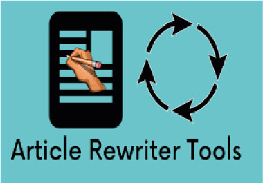 I will rewrite your article or blog post