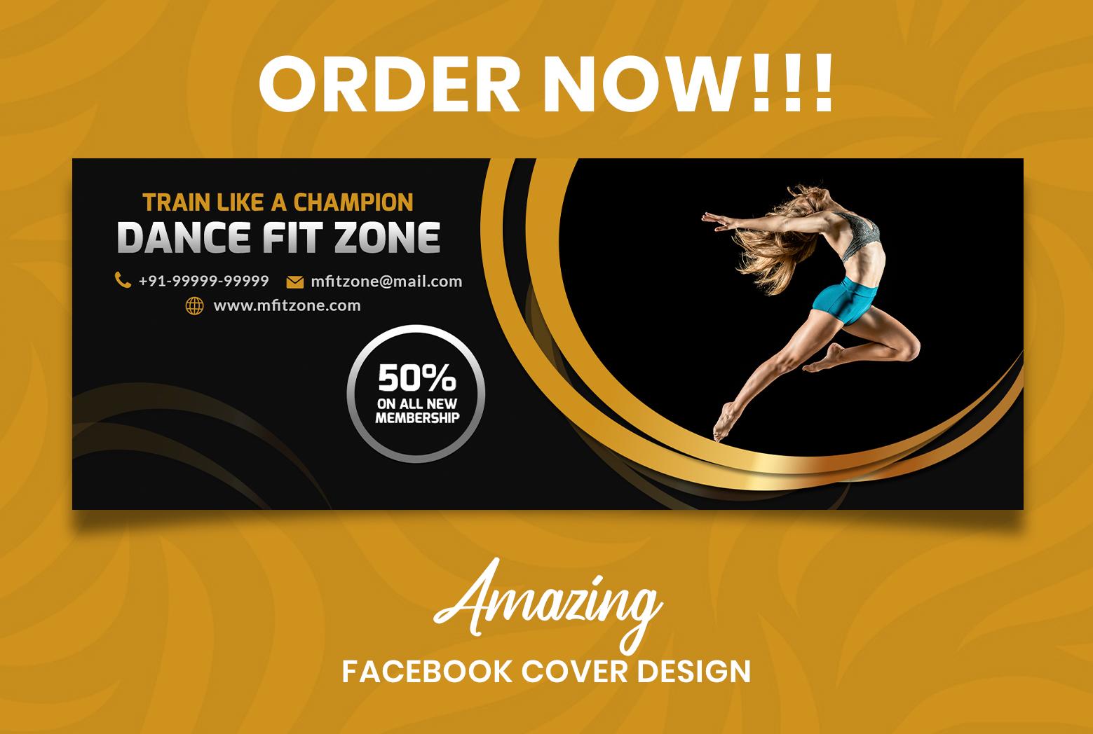I will design Amazing Facebook cover design