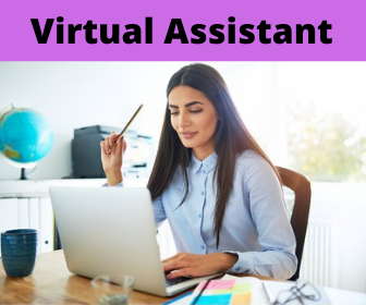 I will do Virtual Assistant and data entry,  Web Research
