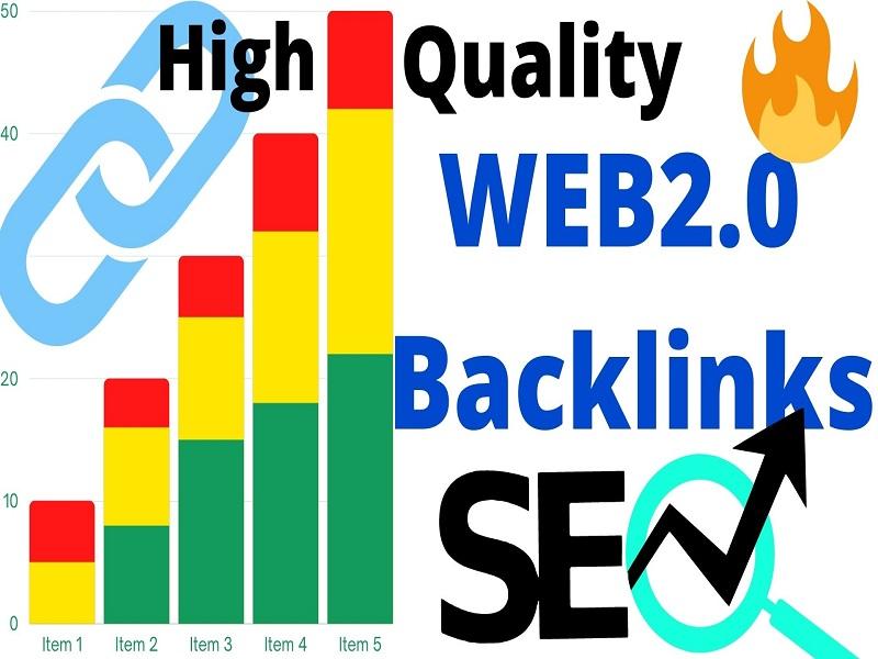 I will build 10 WEB2.O blog High Quality Backlinks