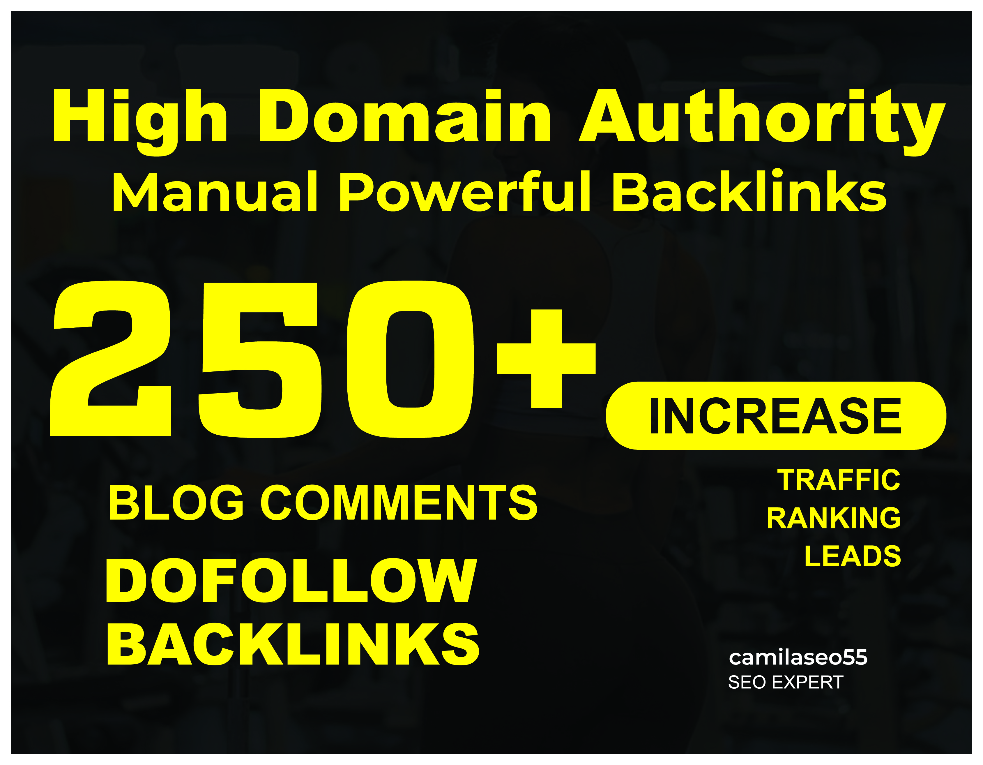 250+ DoFollow Blog Comment High Quality Backlinks