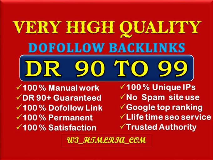 Skyrocket Your Website on Google by Very Manual High Authority Dofollow SEO Backlinks