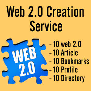 I Can Build 300 web 2.0 blog of Highest Quality & Most Effective Links