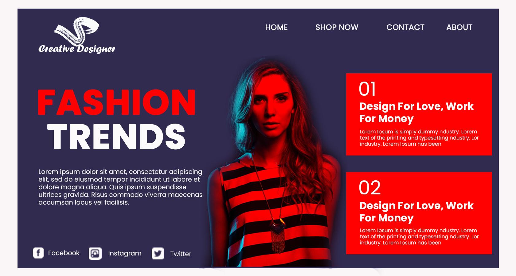 I will design or redesign drupal and Webflow website