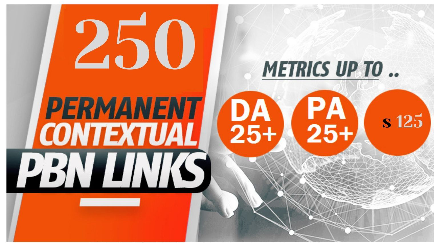 Powerful 250 PBNs Post With DA/PA 25+ Permanent Backlink improve your website on google ranking