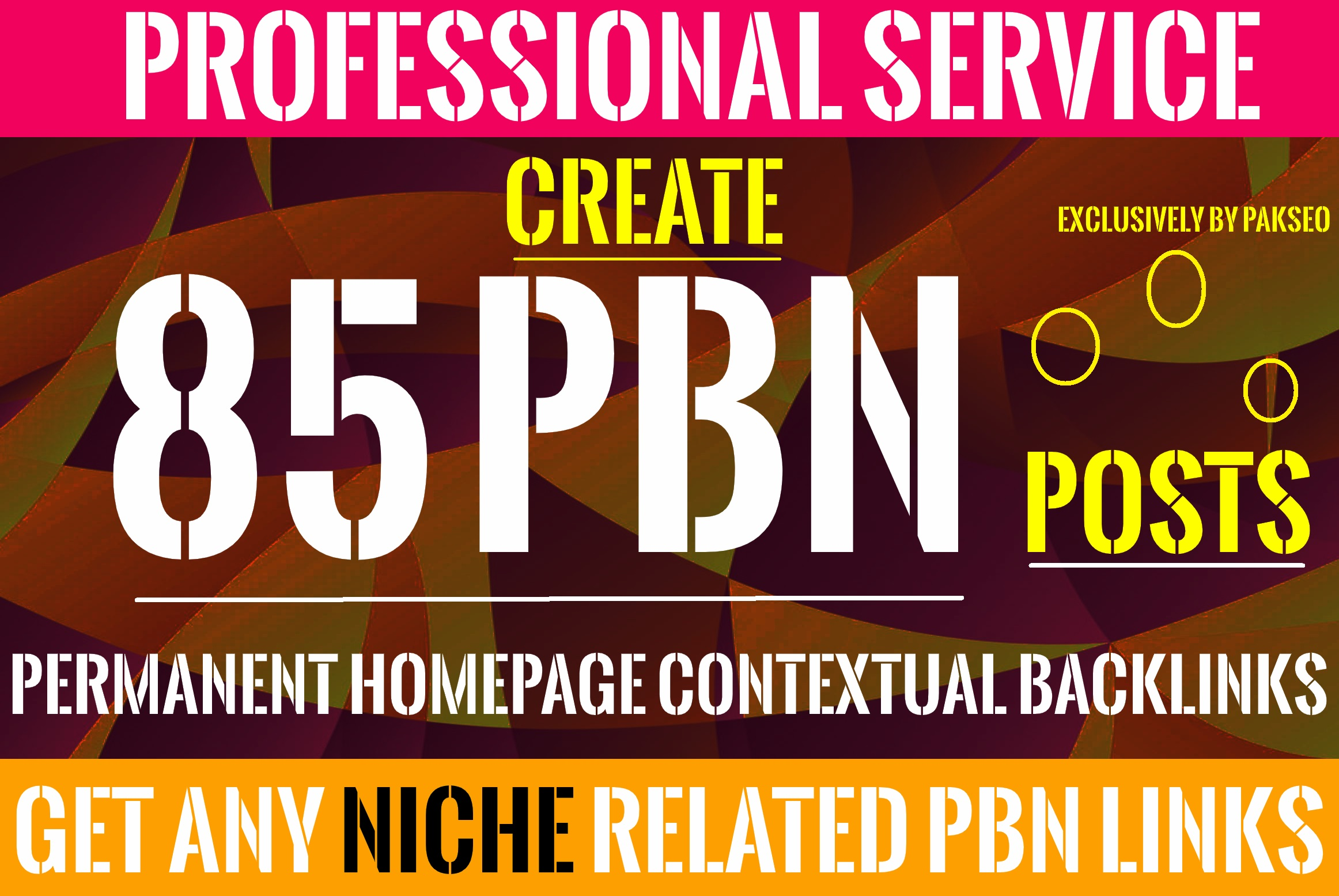 Build 85 Homepage Posts DA up to 60+ Plus PBNs