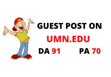 Publish your article on umn. edu