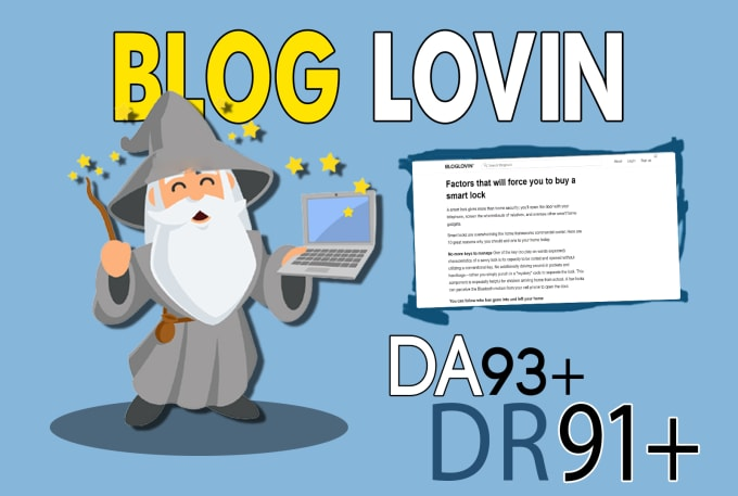 Publish Dofollow Guest Post on Bloglovin. com