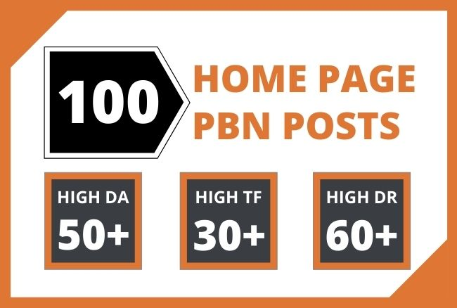 Get Moz Authority,  100 HomePage Dofollow PBN Backlinks To Improve Your Website Ranking