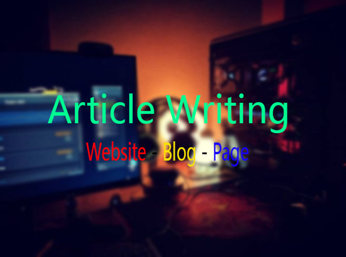 I Can Write 1000 Words SEO Article
