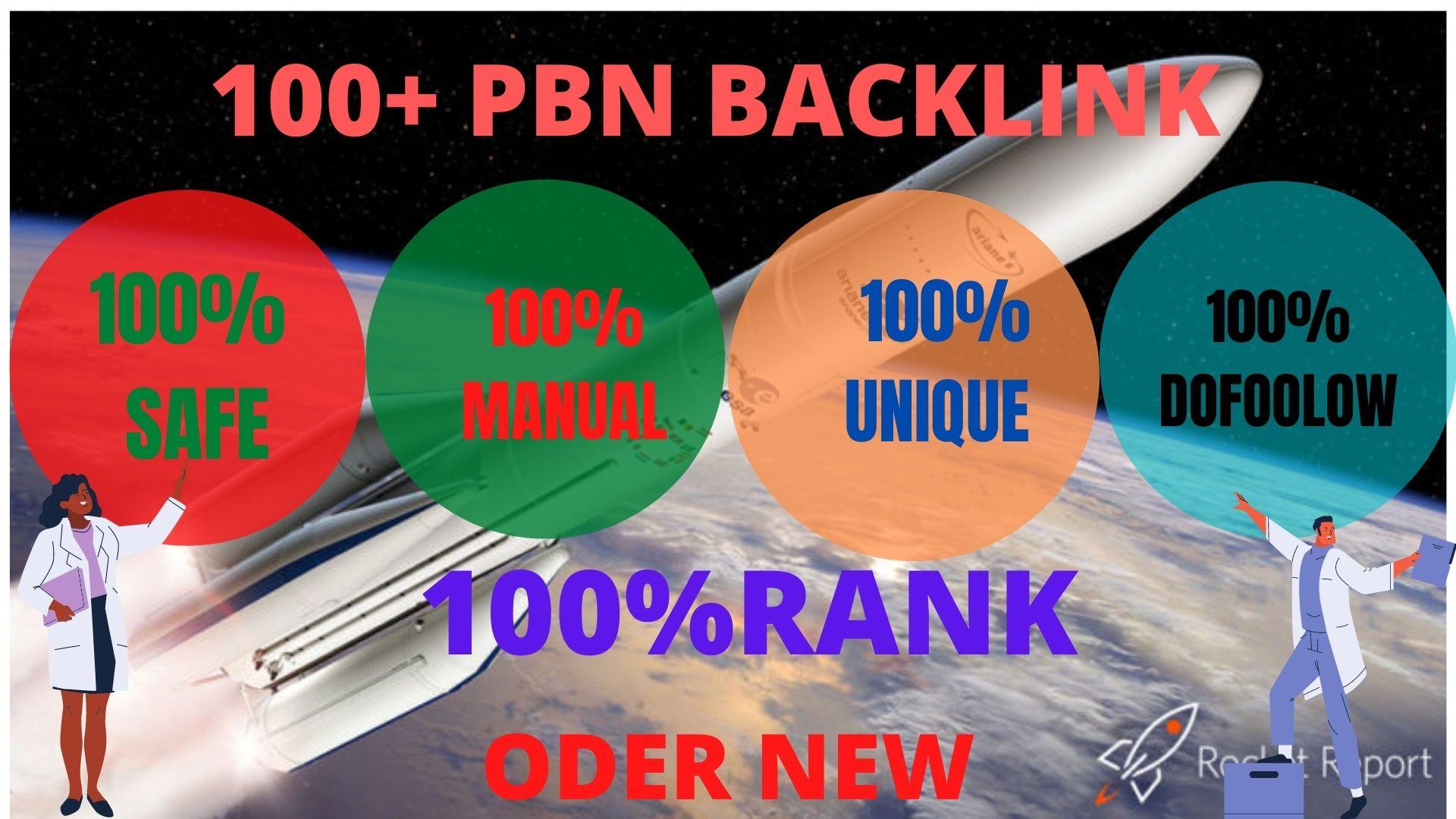 GET 100+ High PBN Backlink Rank your Google site.