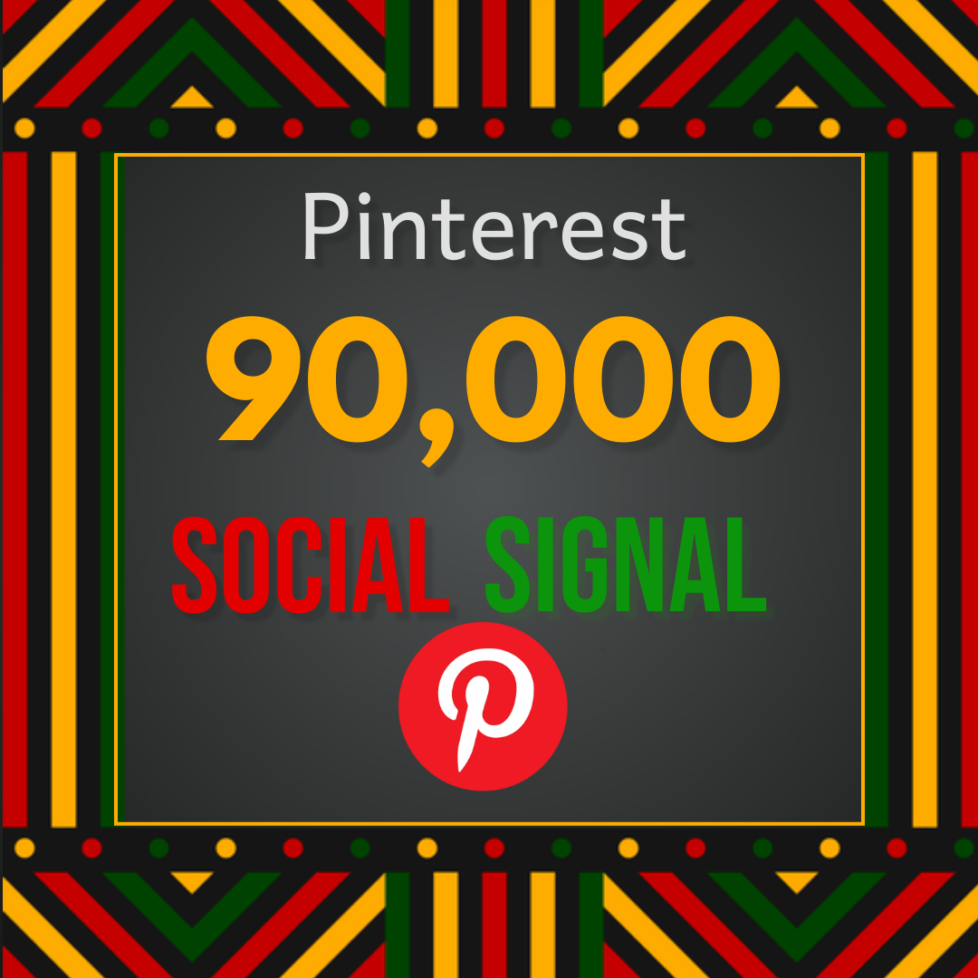 Best offer 90,000 Pinterest social signal Share manually Service HQ SEO Backlink Boost Google Rank