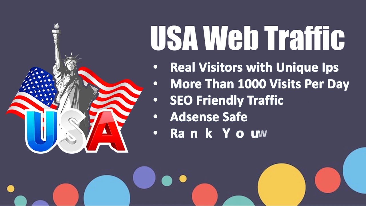 Long visit duration 30,000 USA organic web traffic for 30 days