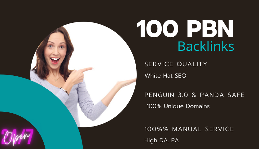 Powerful DA50+100 homepage PBN backlinks