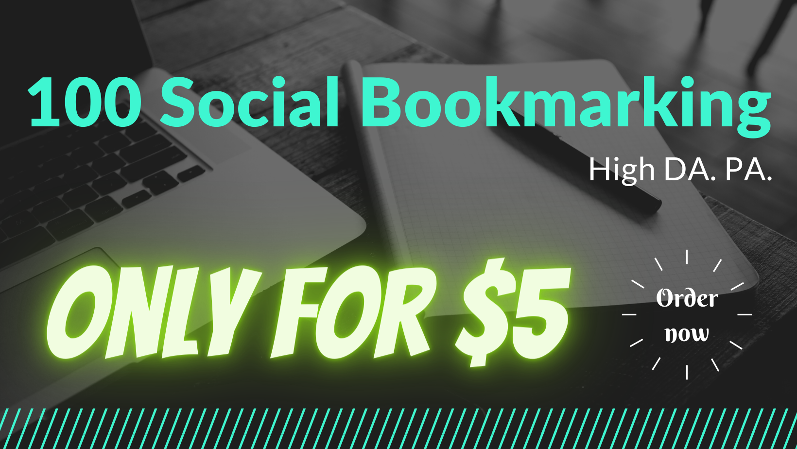 I will create best quality 100 bookmarks on social sites