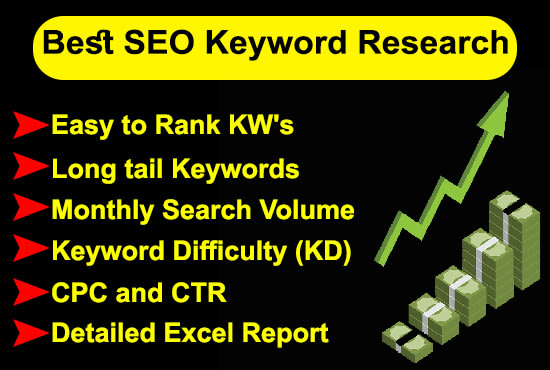 Seo Friendly Best Keywords research For your website