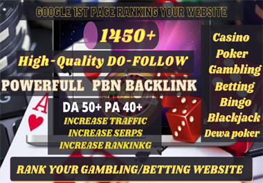 buy one get one package free 1450 Permanent PBN UFA/CASINO/GAMBLING/POKER/Betting /Judi BOLA RELATED