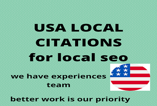 i will advertise your business detail on top most local citations for local seo