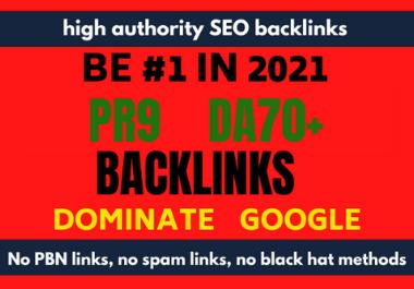 I will do follow SEO backlinks high da authority white hat link building