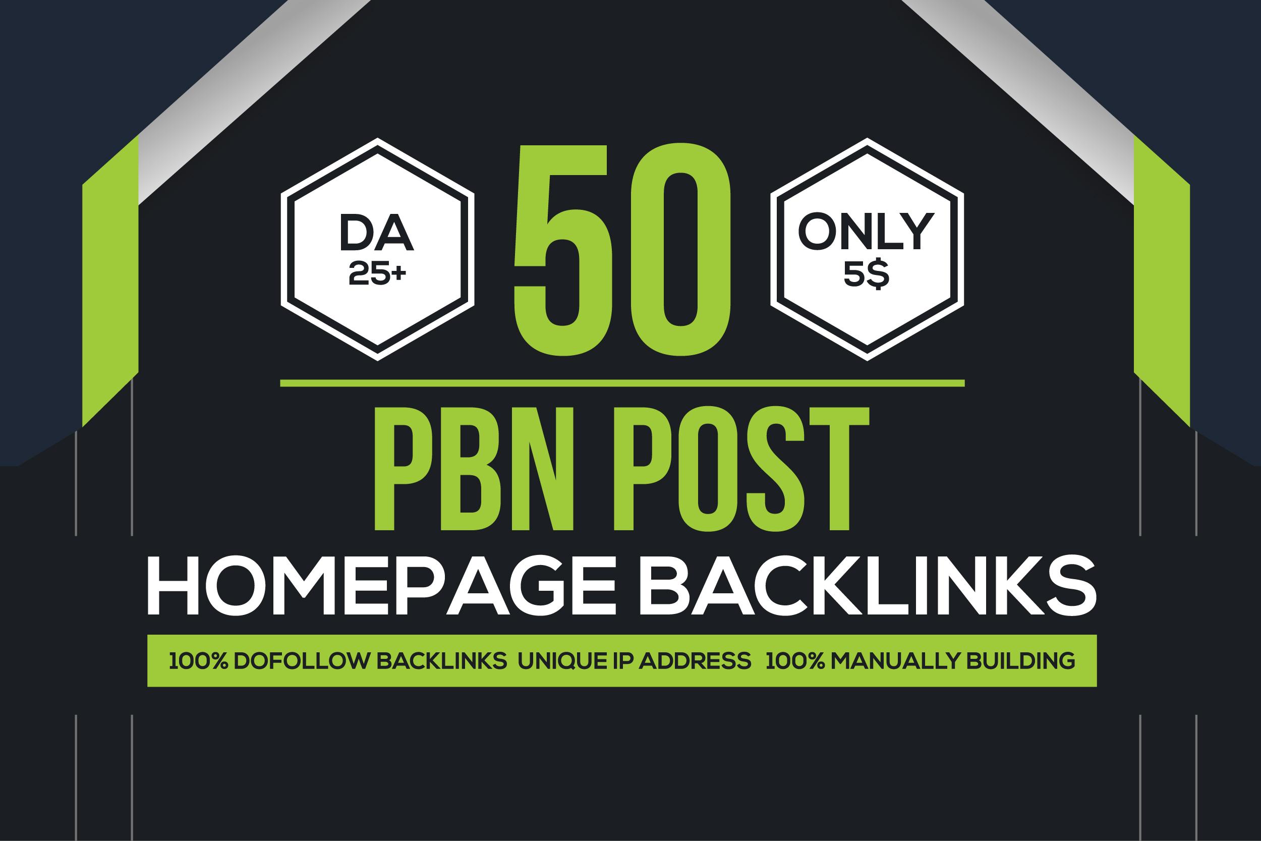 Build High Quality 50 PBN Backlinks,  To Website Rank Improving