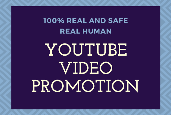 HQ Organic YouTube Video Promotion Super fast services
