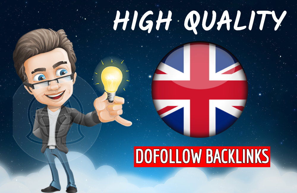 I will build high quality dofollow backlinks for UK local seo