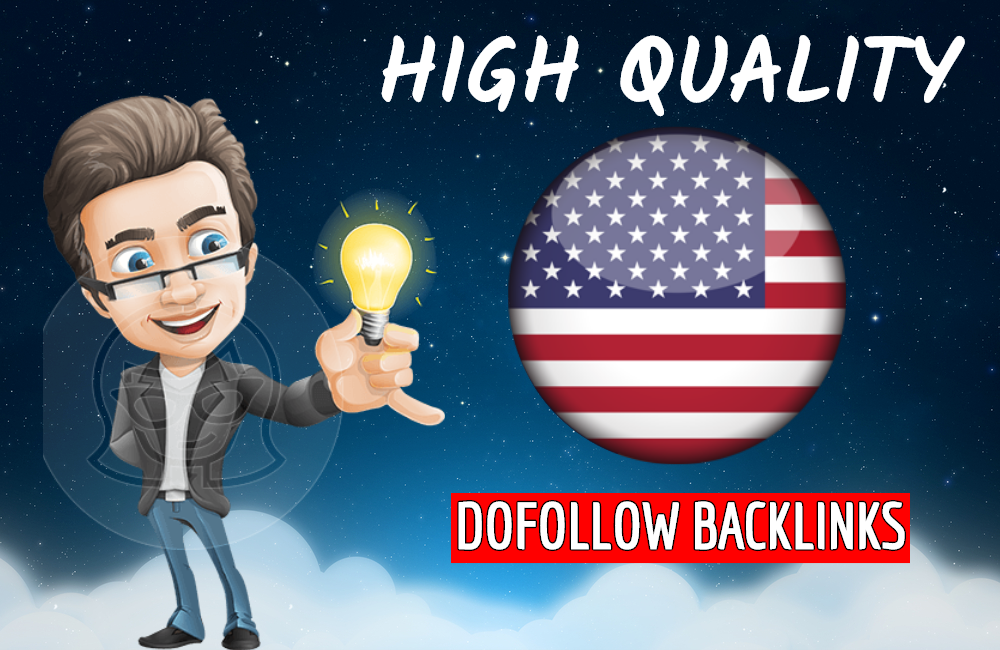 I will build high quality dofollow backlinks for USA local seo