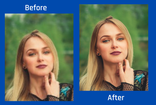 I will increase your images size and enhance photos resolution without quality loss (5 images)