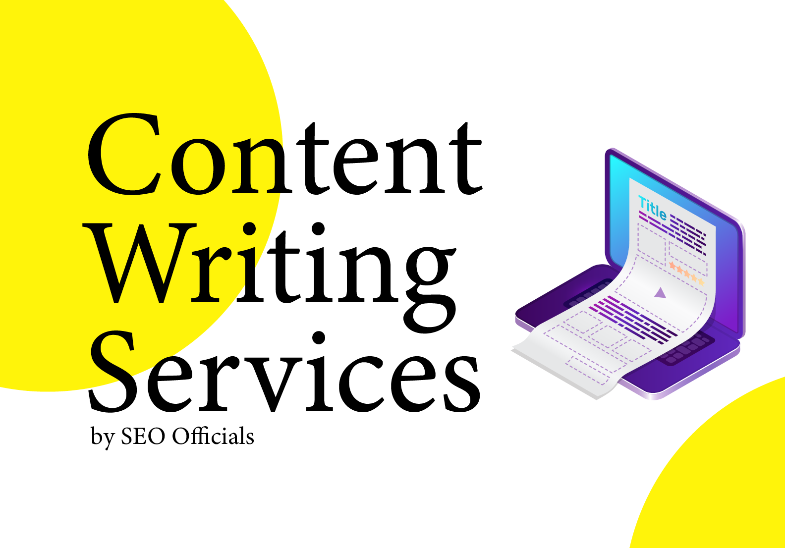 Get Unique and SEO optimized Content by SEO Officials