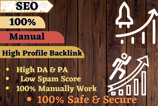 Build 30 High Authority 30 Profile Creation Backlinks for Google Higher Ranking