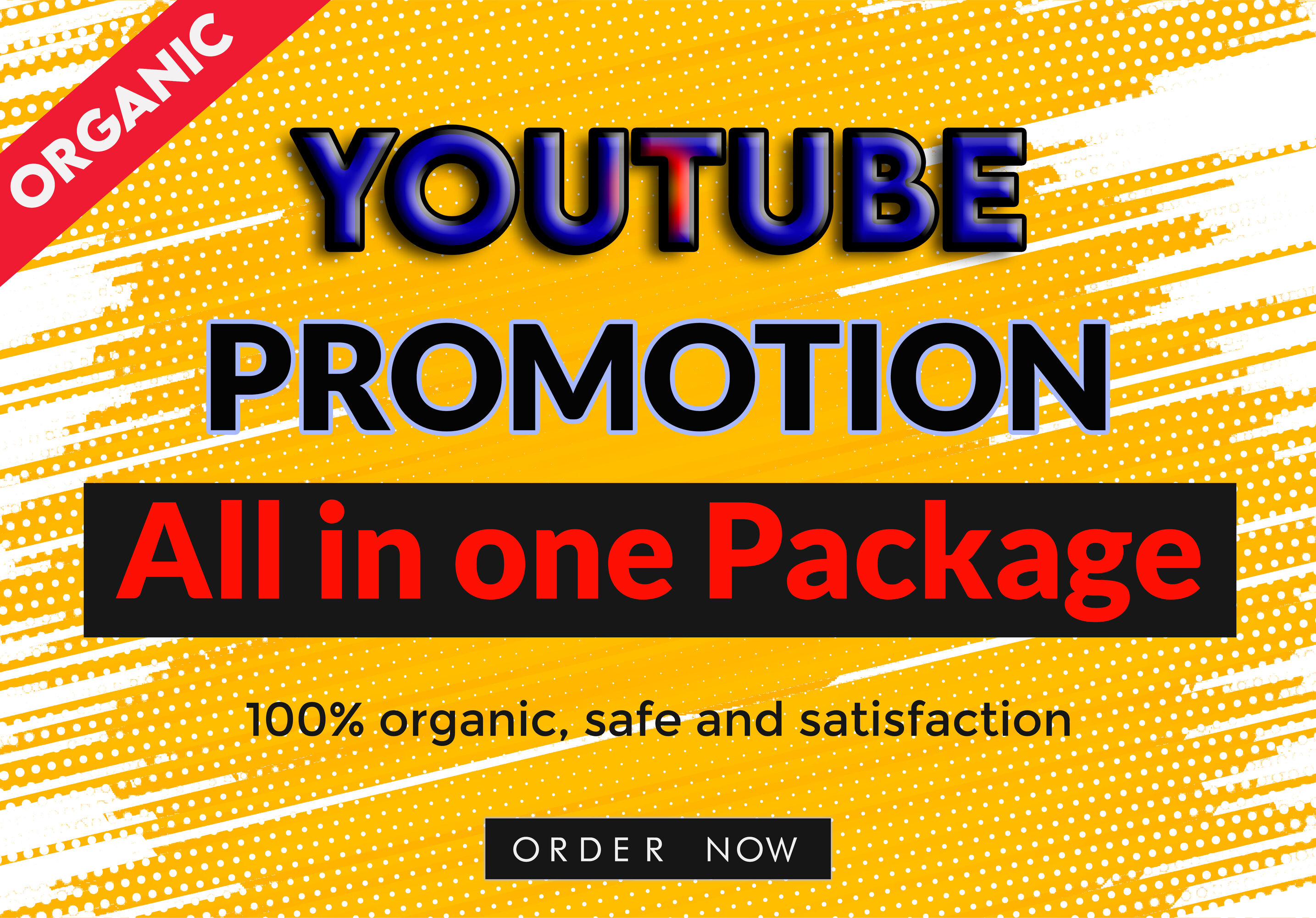 Package- All in one YouTube Video Promotion