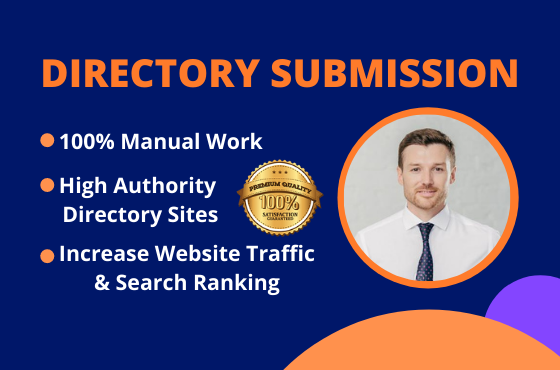I will do up to 300 directory submission manually