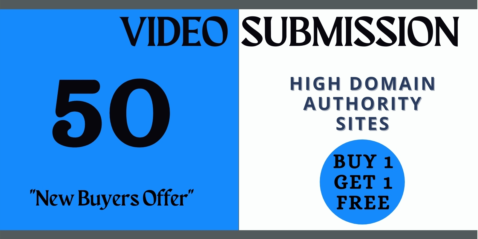Manual video submission on top 50 video sharing sites