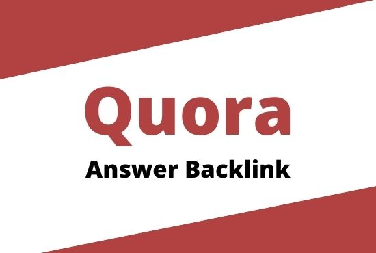 Guaranteed Traffic 3 High Quality Quora Answer Backlinks