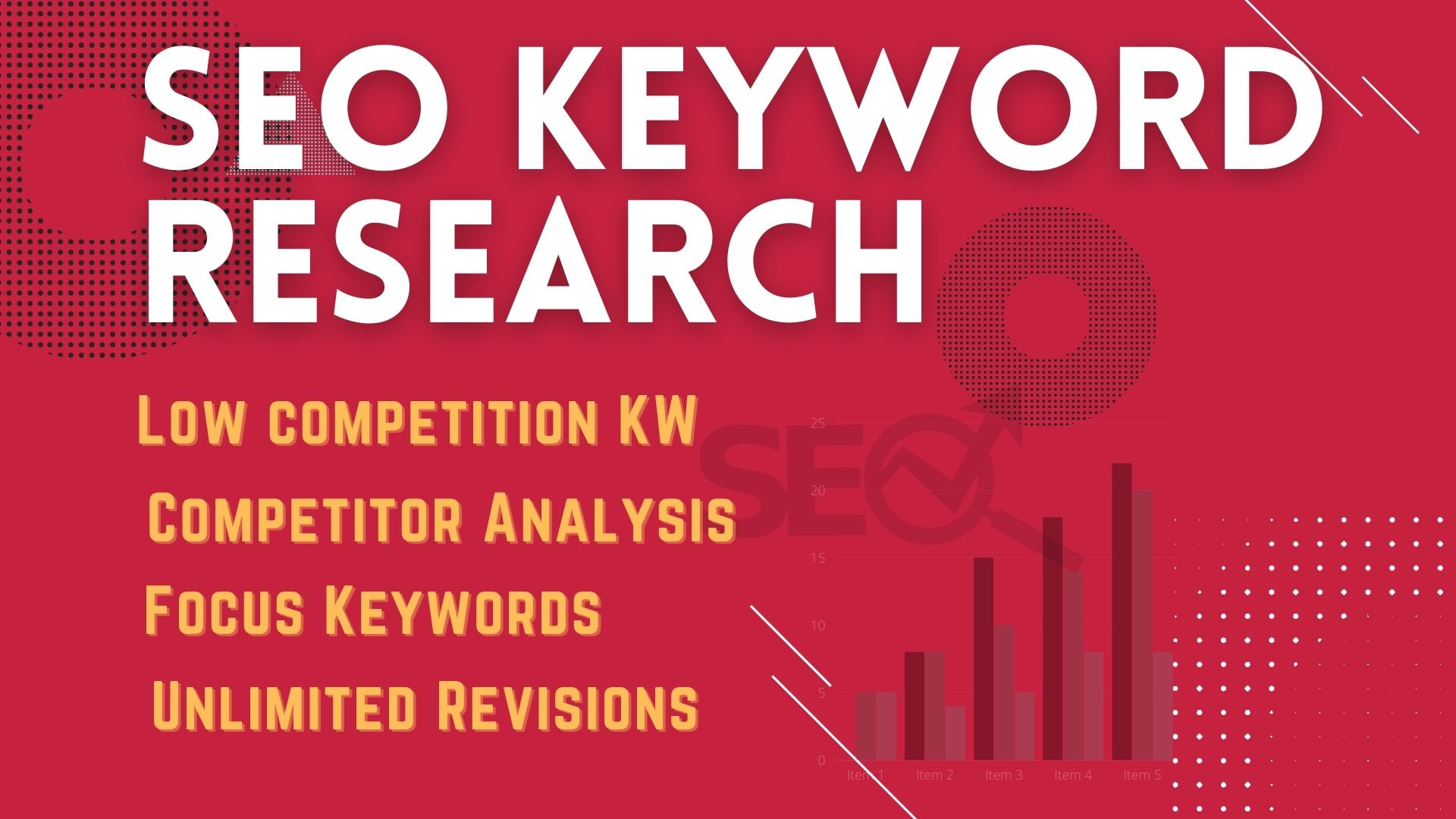I will do SEO Keyword Research to rank higher