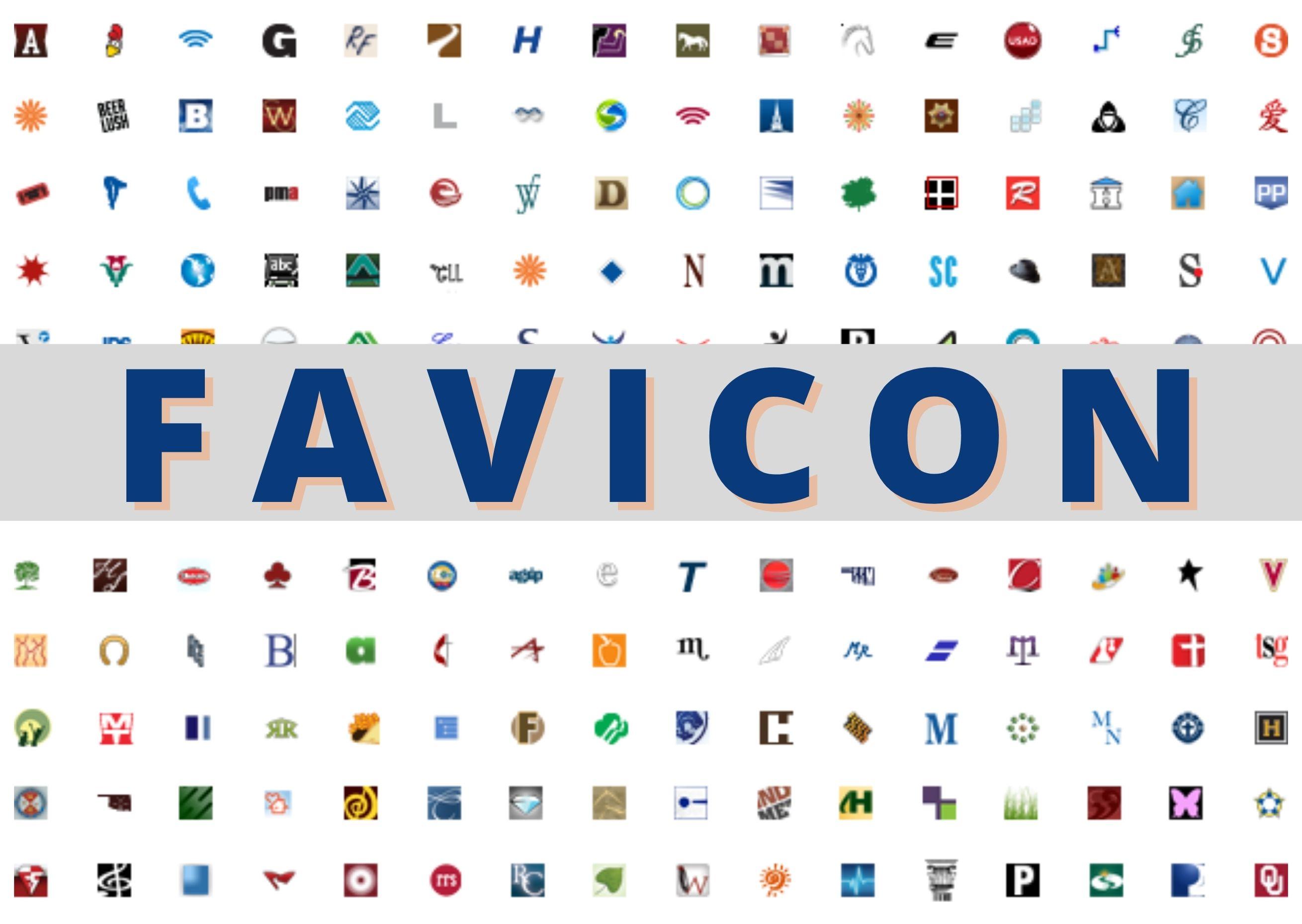 I will design favicon for you in 24h