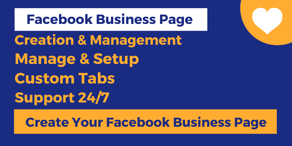 I will create an optimized Facebook business page