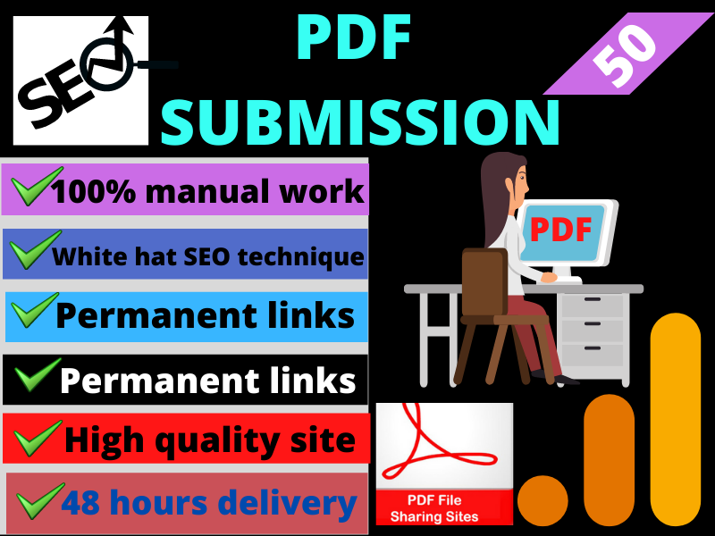 I will do provide PDF submission on 50 sharing site