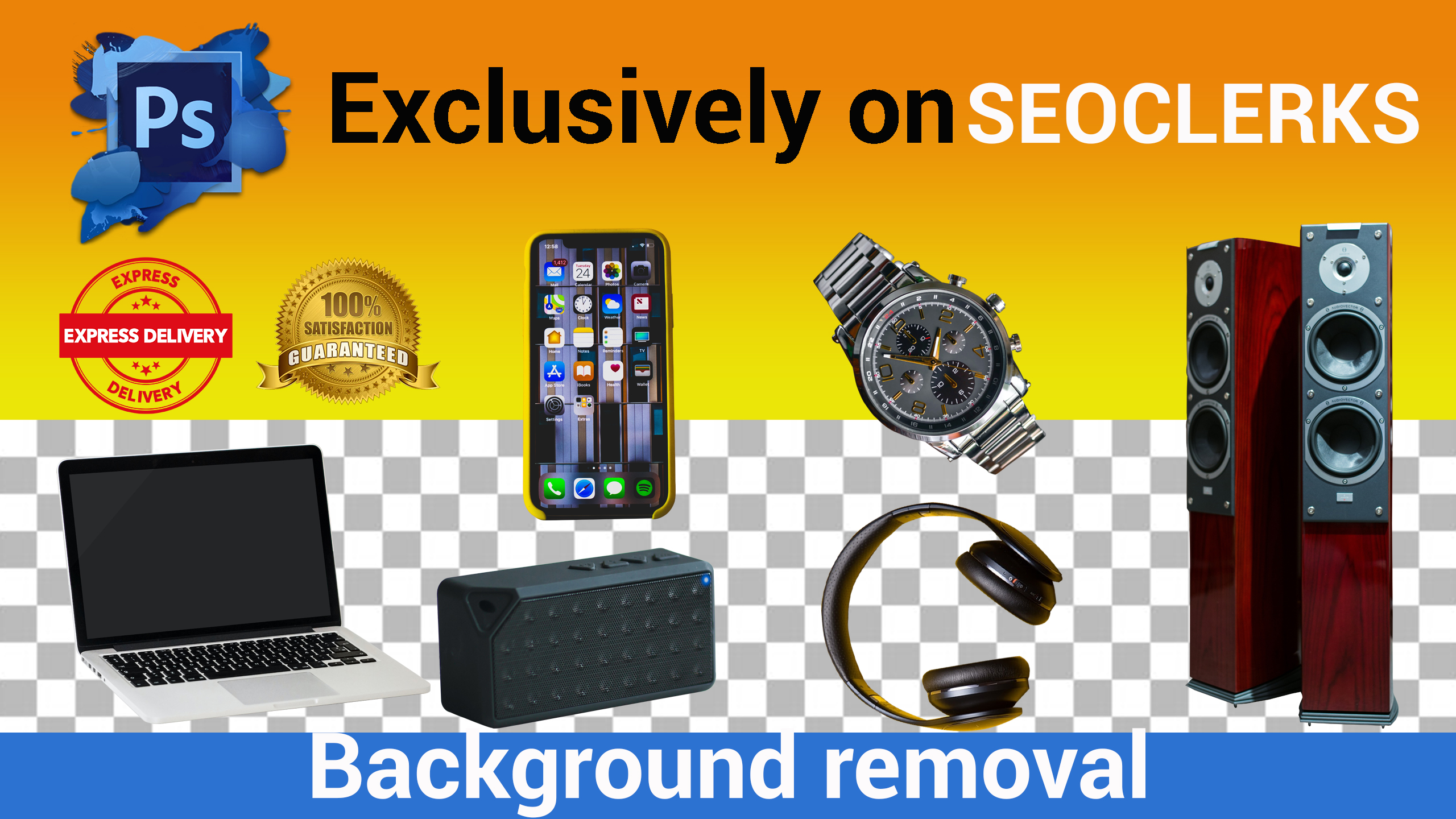 I will remove any product background fastest for amazon,  ebay,  alibaba