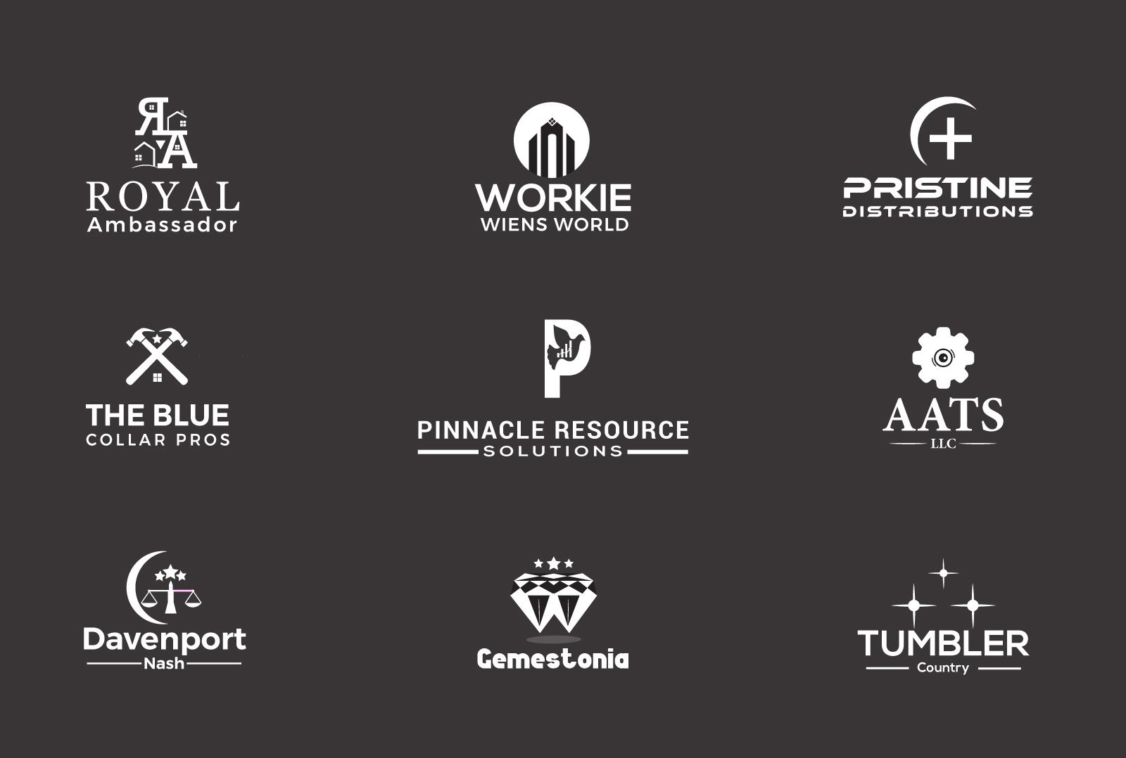 I will create attractive modern minimal Business logo design