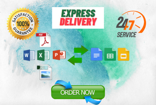 I will be your virtual assistant for 10 pages of file conversion data entry and copy paste jobs