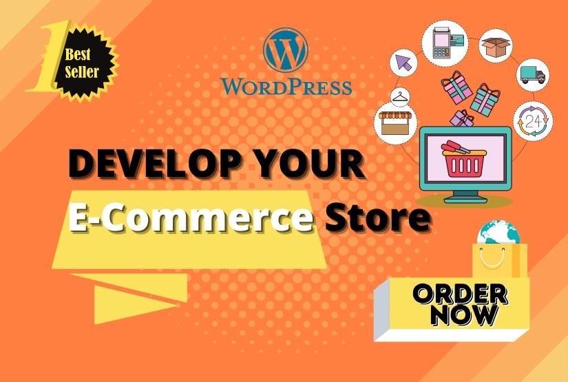 I will create professional WordPress eCommerce store