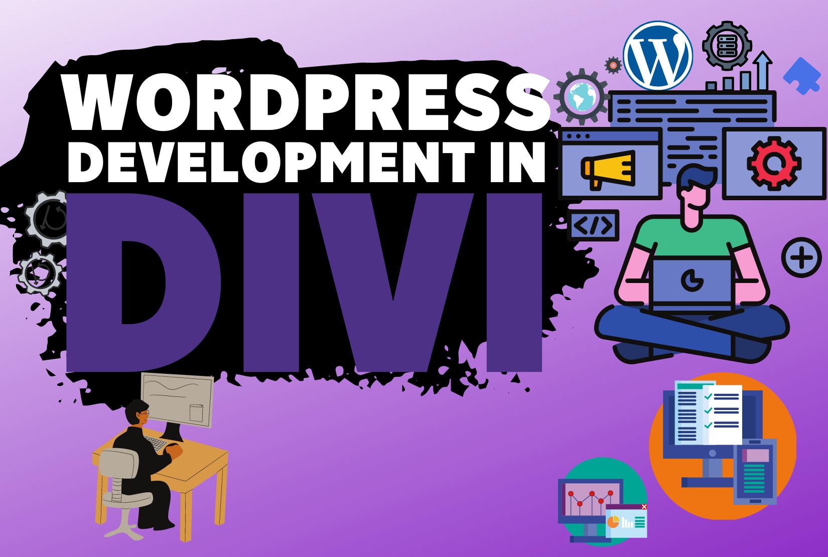 Develop your website in DIVI Builder