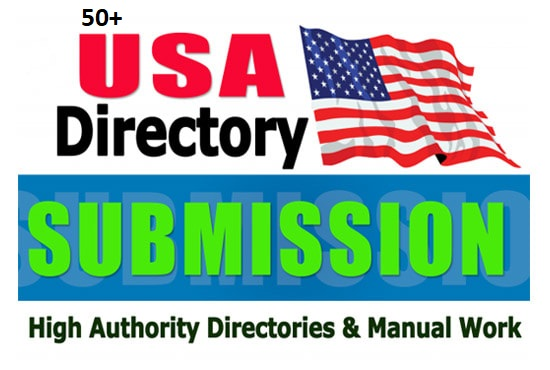 Add 50 High Quality Usa Directory Submission Backlinks With High DA PA TF